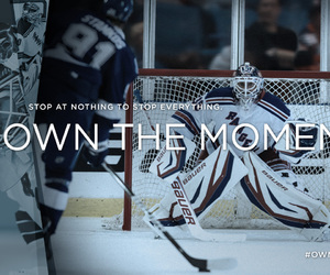 Ice Hockey, bauer, and new york rangers image