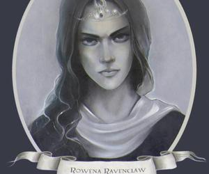 harry potter, ravenclaw, and rowena ravenclaw image