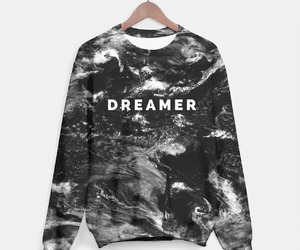 dreamer, sweater, and white image