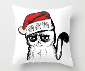 christmas, home, and christmas cat image
