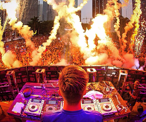 ultra, festival, and fire image