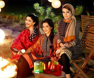 winter dresses, winter collection, and pakistani dresses image