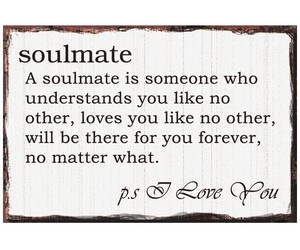soulmate and love image