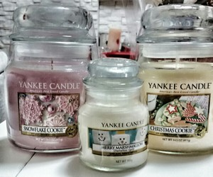 candle, scented, and yankee image