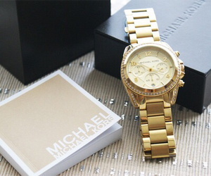 watch, Michael Kors, and fashion image