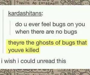 bug, funny, and ghost image