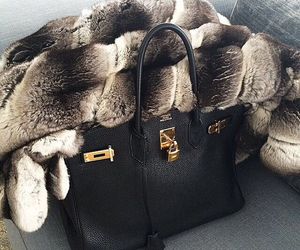 bag, luxury, and black image