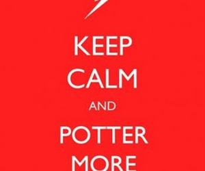 calm, harry potter, and hp image
