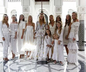 wedding, white, and model image