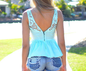 girl, beautiful, and clothes image
