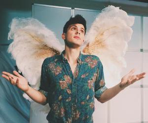 angel, beautiful, and boy image