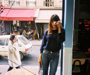 girl, street, and vintage image