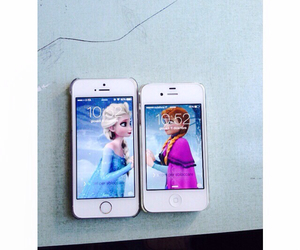 anna, background, and frozen image