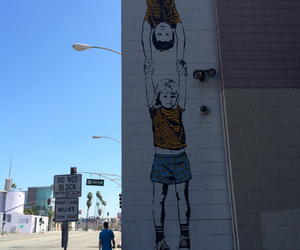 art, hollywood, and street image