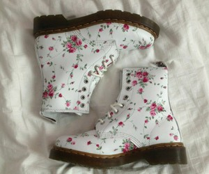 boots, grunge, and girly fashion image