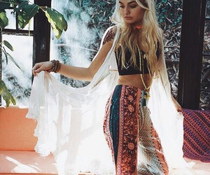 fashion, bohemian, and boho image