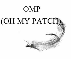 patch, hush hush, and omp image