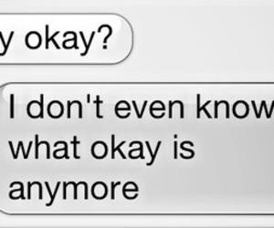 sad, okay, and text image