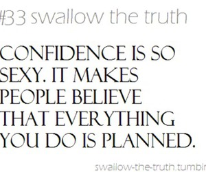 believe, pretty, and confidence image