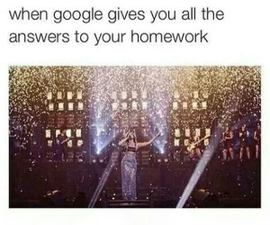 google, funny, and homework image