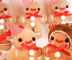 cute, christmas, and Cookies image