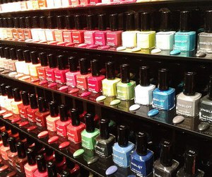nails, nail polish, and nailpolish image