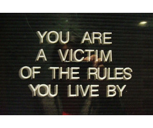 quote, text, and rules image
