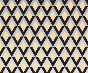 beige, black and white, and geometric image