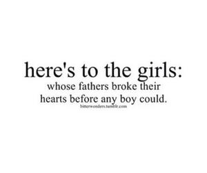 girl, sad, and father image