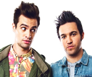 brendon urie, fall out boy, and panic! at the disco image
