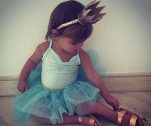child, dress, and girl image