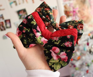 bow, cute, and tumblr image