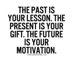 motivation, lesson, and past image