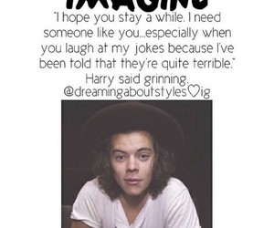 Harry Styles, imagine, and imagines image