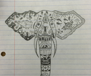 design, intricate, and drawing image