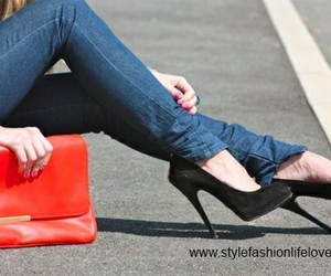 heels, high heels, and shoes image