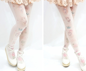 christmas, kawaii, and tights image