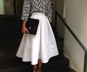 black, casual, and chic image