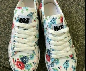 fashion, flower, and nike image