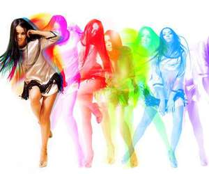 dance, girl, and colorful image