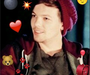 evening, onedirection, and louistomlinson image