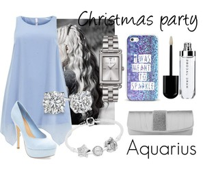 aquarius, bangles, and earrings image