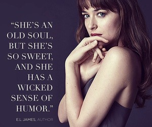 anastasia, christian, and fifty shades of grey image