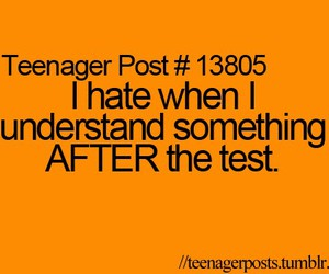 test, teenager post, and teenager image