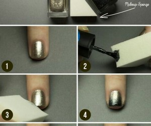nail art, classe, and noir image
