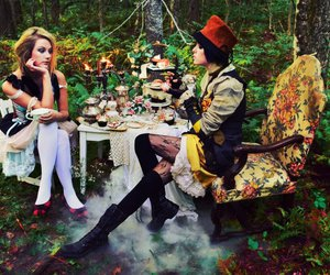 alice in wonderland, fairytale, and muchness image