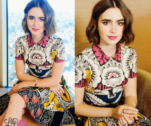 actress, lily collins, and love rosie image