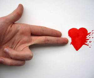 heart, hand, and shoot image