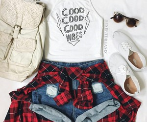 cool, outfit, and shorts image