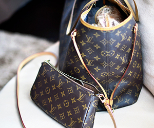 Louis Vuitton, bag, and fashion image